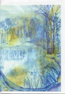 Lyveden New Bield-Winter Card