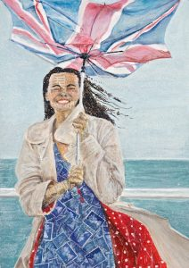 'British Summertime' by Jacki Cairns, Heartwork