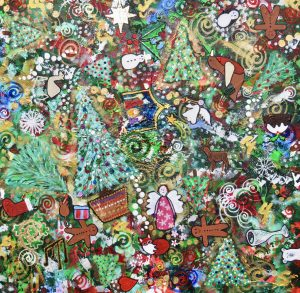 CHRISTMAS by Peterborough nature artist Charron Pugsley-Hill