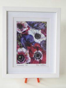 Print Anemones 23x27cm