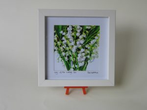 Print Snowdrops 23x23cm