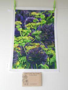 Tea Towel Alliums 34x51cm