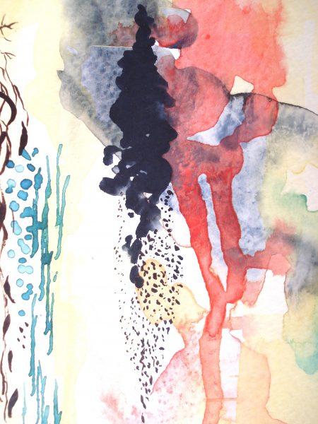Eruption Painting Detail