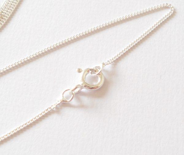 Bolt ring necklace fastening