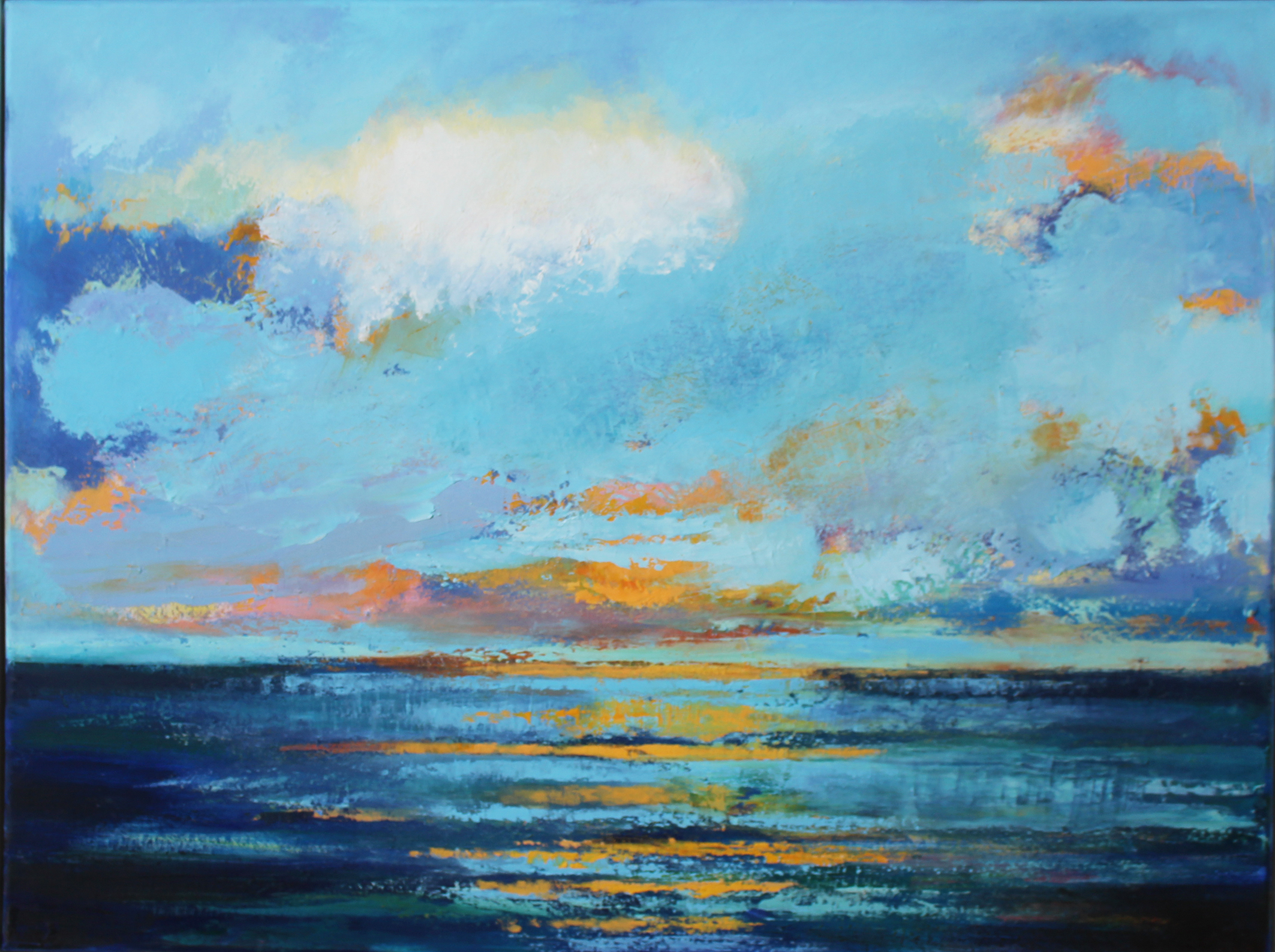 Image result for sea painting irish